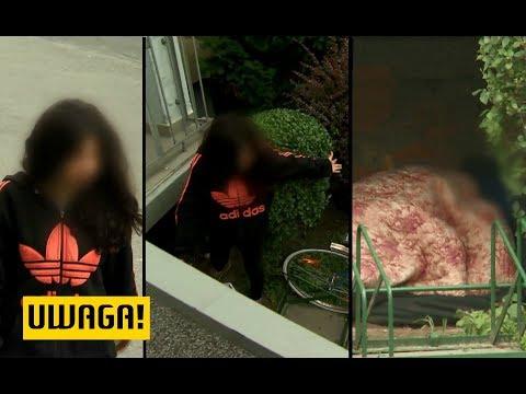 20-latka od tygodni koczuje pod schodami. 'Kąpię się w fontannie' (UWAGA! TVN)