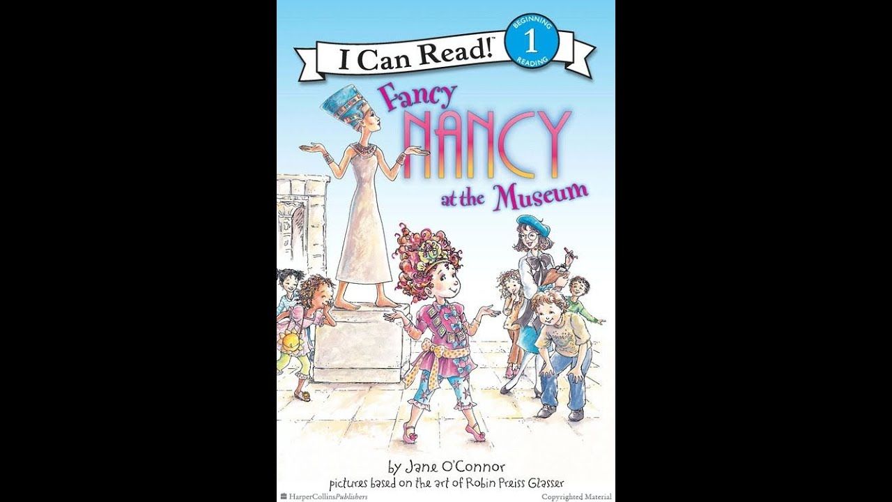 fancy nancy at the museum by jane oconnor youtube - Fancy Nancy Halloween