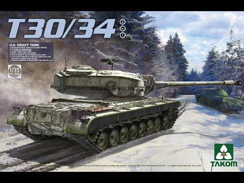 U.S. Heavy Tank T30\34 2065 Takom