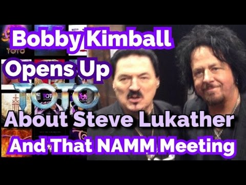 Bobby Kimball Gives His Side the NAMM Steve Lukather Meeting