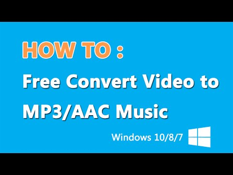 How to Convert Video MP4 to MP3 File Windows 2016 [Windows 10 Tutorial]