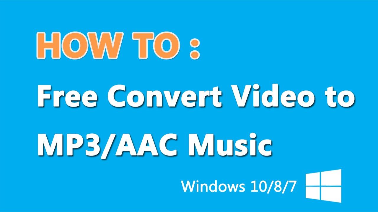 converter mp4 to mp3 windows 10