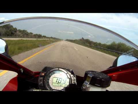 2005 zx10r top speed