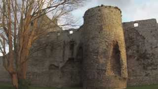 Portchester Castle : 900-year old Medieval castle