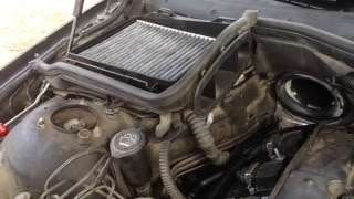 BMW E39 Cabin Air Filter Housing Removal and installation 525i 528i 530i 540i M5