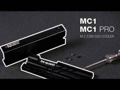 MC1/Pro M.2 SSD cooler product presentation