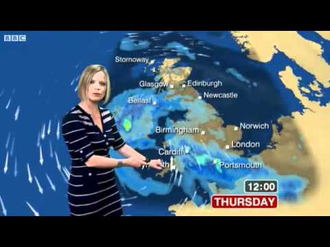 BBC Weather - Stormy Weather Hits UK *MET OFFICE AMBER WARNING ISSUED*