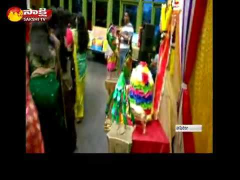Sakshi TV - Bathukamma Sambaralu  In Washington