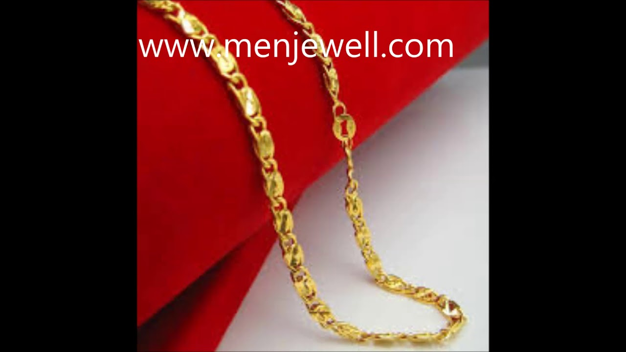 Latest Jewellery Design Mens Jewellery gold chain for men by ...