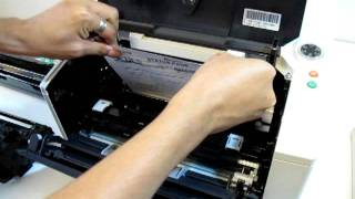 Kyocera FS-1120D/1370DN/1320D: แก้ปัญหากระดาษติด