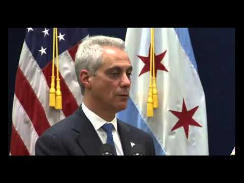 rahm Emanuel Ripped By Media During News Conference On Chicago Police
