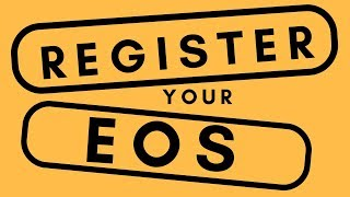Register your EOS with EXODUS and MyEtherWallet |V2