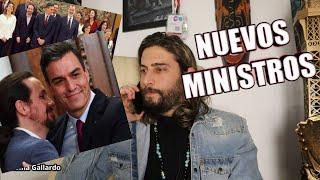 MINISTROS NUEVOS Y SUELDAZOS MILLONARIOS