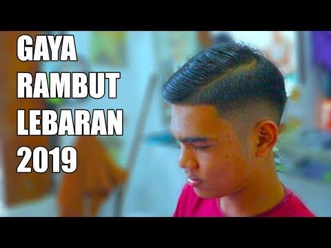 Gaya Rambut Lebaran 2019 Cowok Indonesia Youtube
