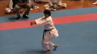Kata WANKAN - Okinawa World Karatedo Tournament 2009