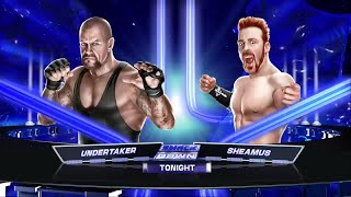 "WWE 2K15- Undertaker vs Sheamus ""WWE Universe"" 2015 (PS4)"