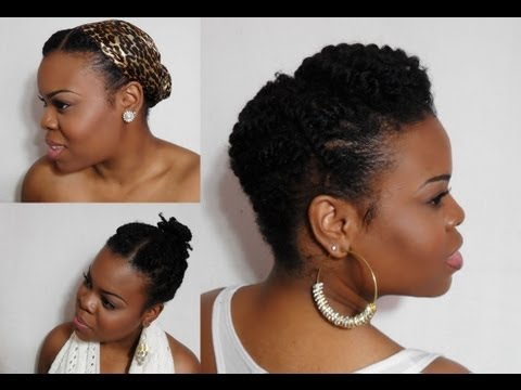 5 Ways To Wear Your Twists:: Protective Hairstyles For Colder Months (Natural Hair) - SimplYounique - 동영상