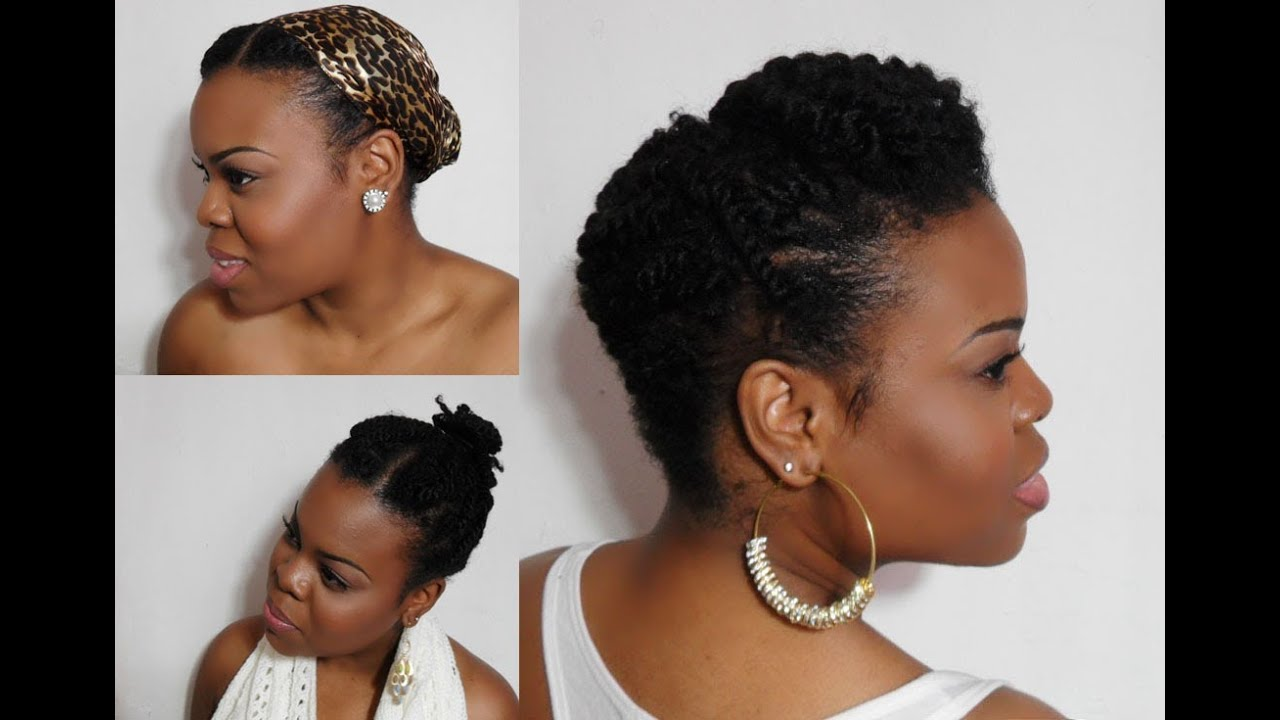 5 Ways To Wear Your Twists:: Protective Hairstyles For Colder ...