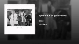 Ignoramus et Ignorabimus