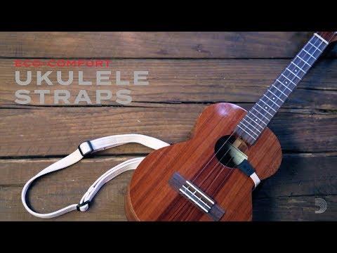 Eco Comfort Ukulele Straps Youtube