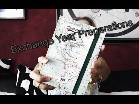 Exchange Year Preparations.
