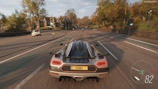 Forza Horizon 4 - 2015 Koenigsegg One:1 Gameplay [4K]