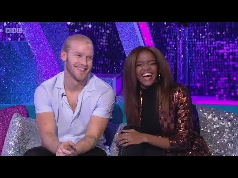Jonnie Peacock and Oti Mabuse's last It Takes Two (11/20/17)