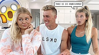 ASKING THE GIRLS AWKWARD QUESTIONS...*LIVE*