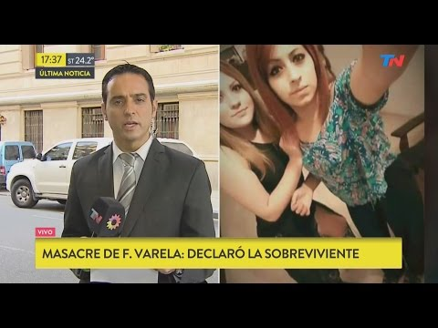 Declaró una de las sobrevivientes de la masacre de Florencio Varela