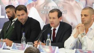 TONY BELLEW v BJ FLORES / CAMPBELL v MATHEWS / BURNETT v FARRAG - *FULL UNCUT PRESS CONFERENCE*