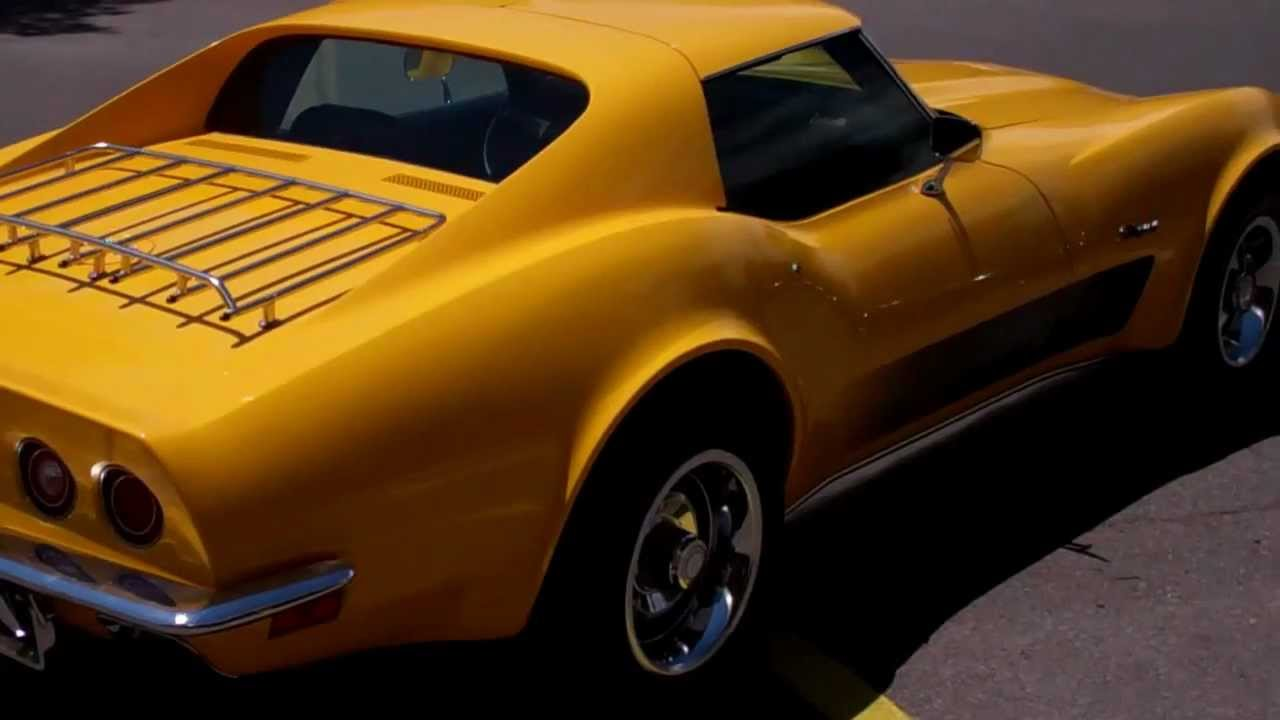 Corvette For Sale >> 1973 Chevy Corvette StingRay For Sale at Hot Rod CIty, Las Vegas - YouTube
