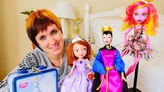 Видео для девочек. Коробочка потеряннях вещей #2 София прекрасная, Колдунья и Монстр Хай