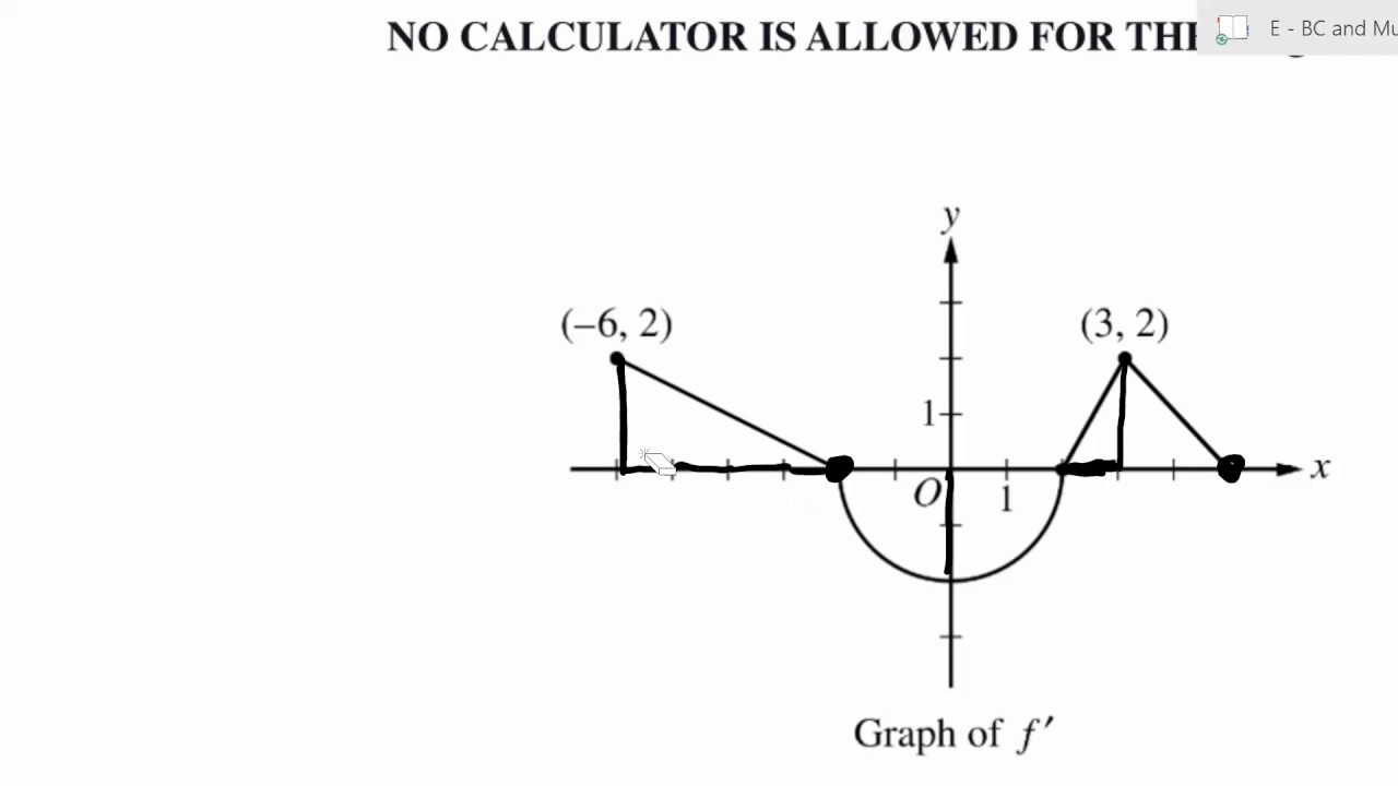 2017 AP Calculus BC Free Response Question 3 Solution