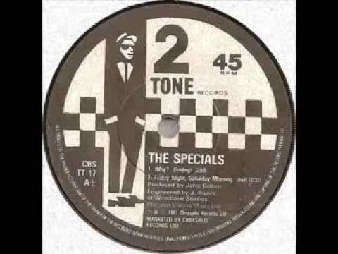 The Specials  Ghost Town  dub