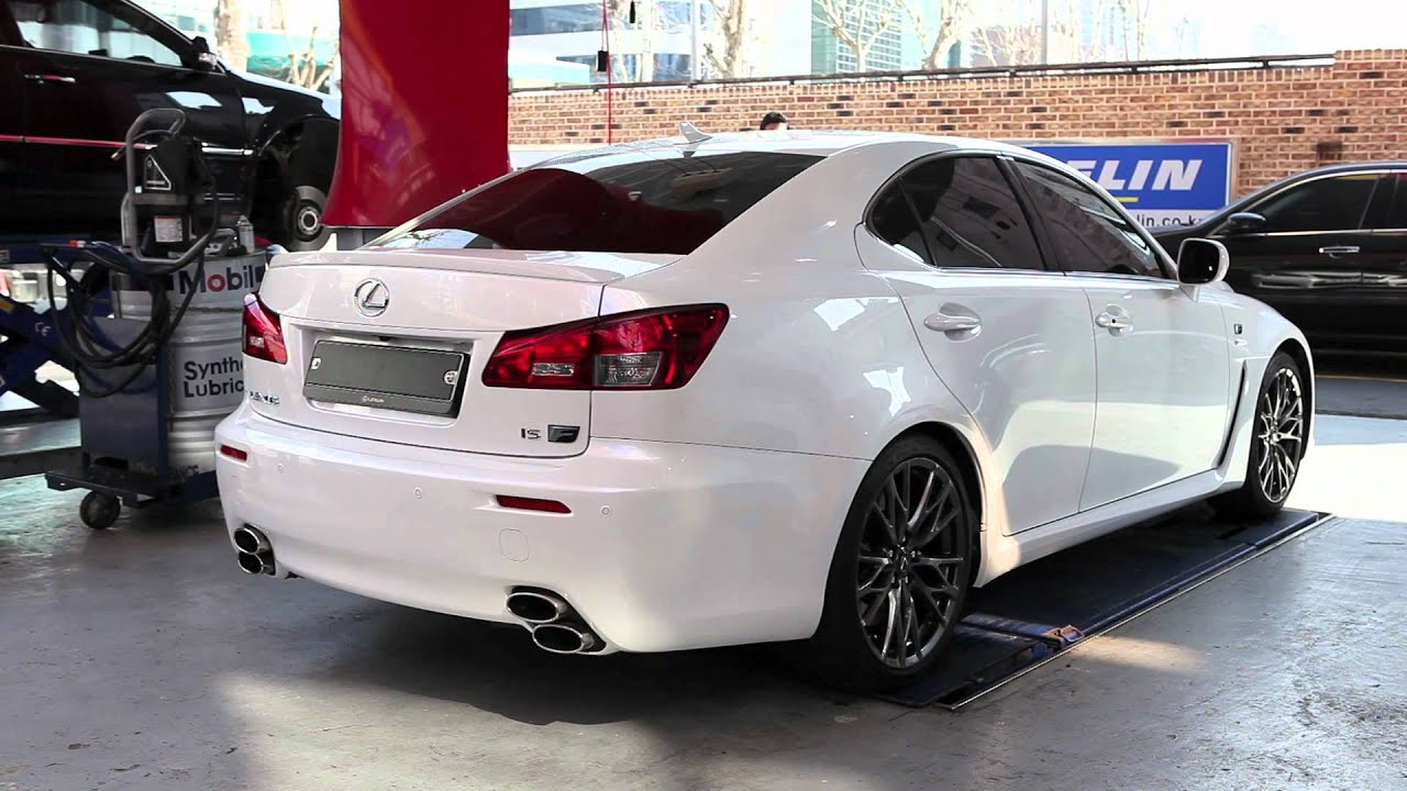 icode japan full titanium exhaust for the 2012 lexus is f. Black Bedroom Furniture Sets. Home Design Ideas