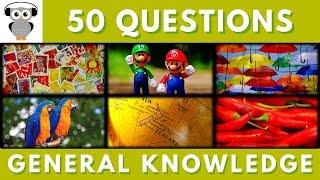 General Knowledge Quiz #27 | Trivia 50 Questions | Do You Know | Pub Quiz
