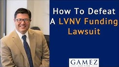 How To Defeat LVNV Funding Lawsuit For Credit Card Debt