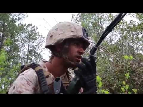 Training: 2nd Light Armored Recon of 2nd Marine Division Conducts Platoon Attacks