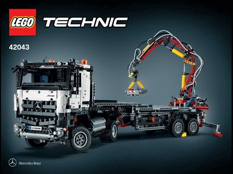 lego technic 42043 mercedes benz arocs 3245 b model. Black Bedroom Furniture Sets. Home Design Ideas
