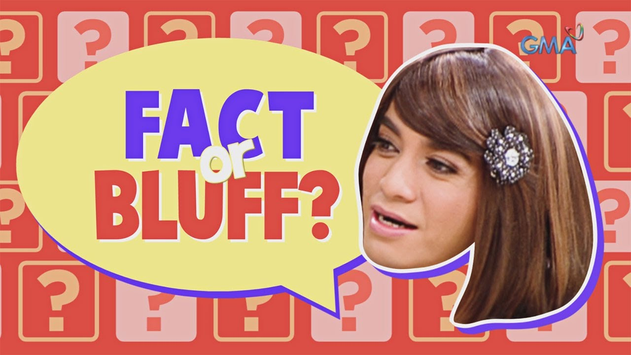 Celebrity Bluff: Fact or Bluff about Boobay