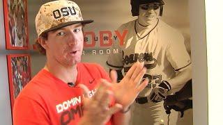New OSU Baseball Locker Room Tour w/Andrew Moore and K.J. Harrrison