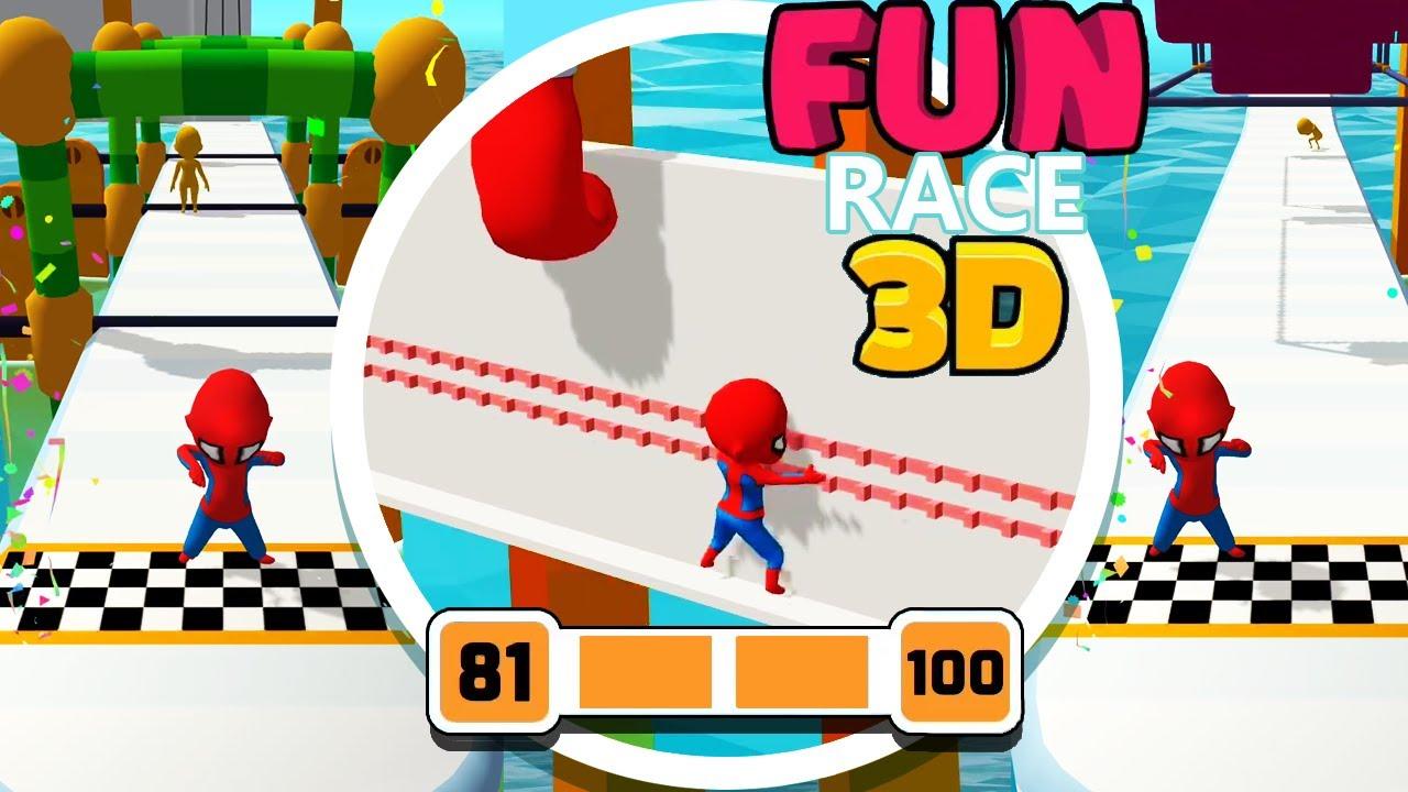 Fun Race 3d Level 81 100 Walkthrough Youtube