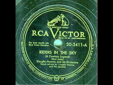 Ghost riders in the sky vaughn monroe