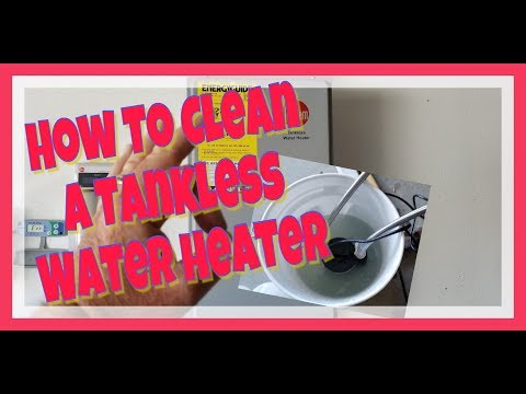 How to service a Rheem Tankless Water Heater - *** Disclaimer in Comments ***