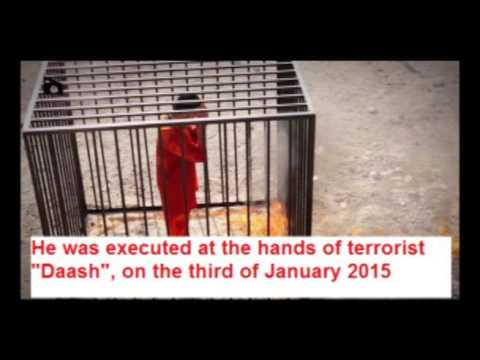 Who is Moaz Kasasbeh which burned by Daash