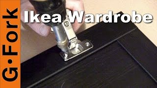 Ikea Wardrobe Assembly - GardenFork.TV