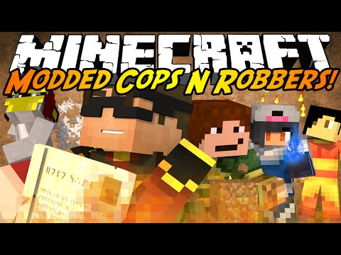 Minecraft Modded Cops N Robbers : AVATAR MOD!