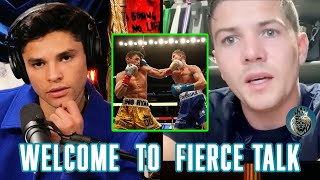 Ryan Garcia and Lขke Campbell Break Down Their Epic Fight | Fierce Talk Podcast Clips