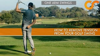 HOW TO REMOVE TENŠION FROM YOUR GOLF SWING