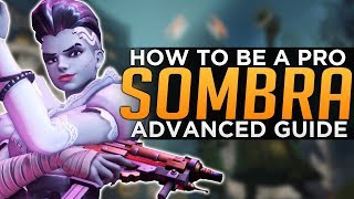 Overwatch: How to Be a PRO Sombra - Infinite Invis Advanced Guide